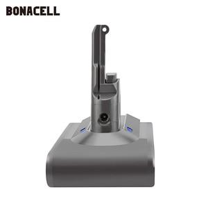 Image 3 - Bonacell V8 4000mAh 21.6V סוללה עבור דייסון V8 סוללה מוחלט V8 בעלי החיים ליתיום SV10 שואב אבק נטענת סוללה l70