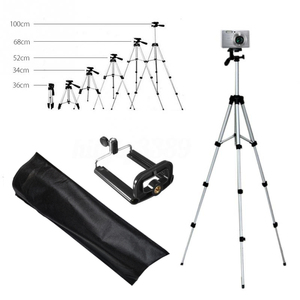 Image 2 - Tripods camera stand cam smartphone mobile phone holder monopod tripe extension stick tripod for camera standaard