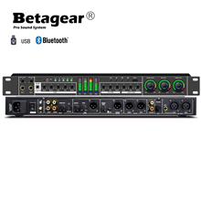 Betagear FX12คาราโอเกะโปรเซสเซอร์โปรเซสเซอร์เสียงPre Effects KTV Professional Digital Echo Effect Processor