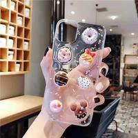 Signalshin-funda de teléfono para Xiaomi de dibujos animados 3D para tarta de donut, funda suave creativa, 10 Redmi Note 9 8 K20 K30 10X CC9 CC9e Pro Lite