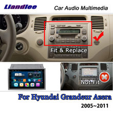 Liandlee android для hyundai величие azera 2005 ~ 2011 обоих