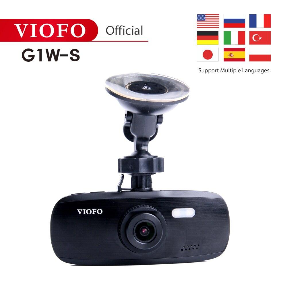 VIOFO Camcorder Dash-Cam G1W-S Novatek96650 Super-Capacitor IMX323 1080P And HD Upgraded