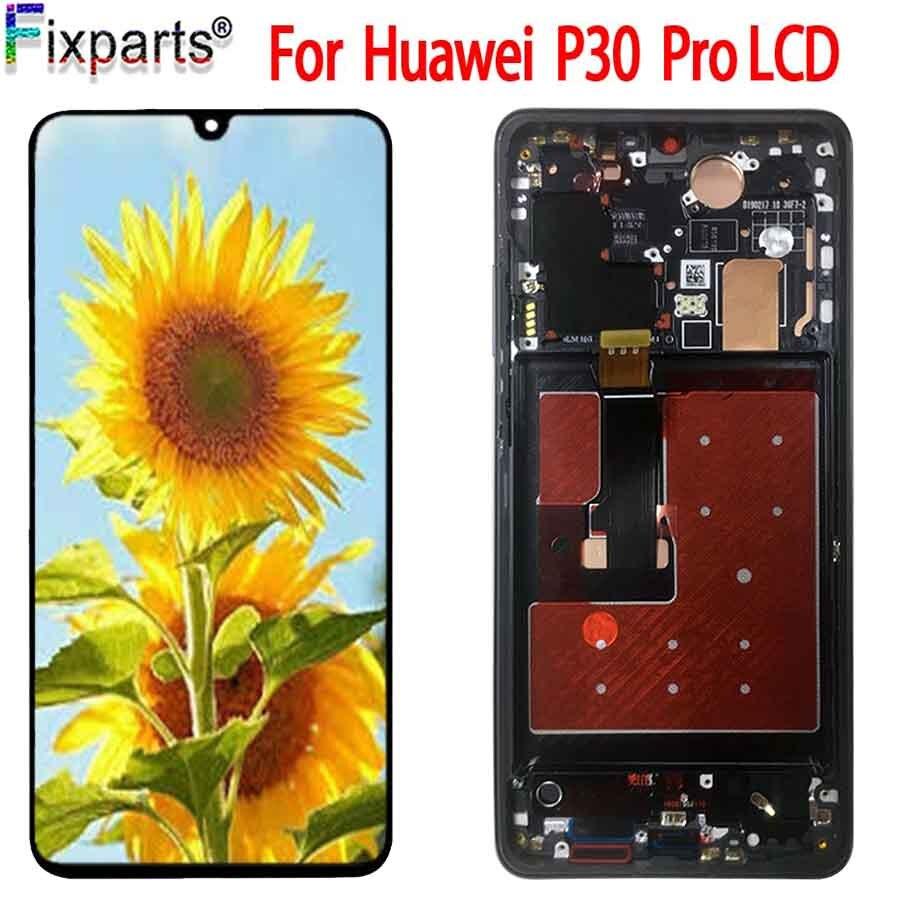 D'origine Pour Huawei P30 Pro LCD Pièces de Rechange D'assemblée de Convertisseur Analogique-Numérique D'écran tactile 6.47