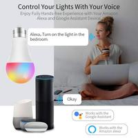 led warm Smart Bulb WiFi Led Light RGB Lamp Convertible Cool&Warm Lights Remote Control Colorful New Year Light for Amazon Alexa Google (2)
