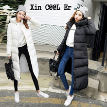 2016 New Winter Coat Thick Padded Down Korean Larg