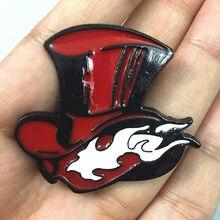 Shin megami tensei persona 5 broche emblema pino de metal roupas mochila acessórios cosplay crianças otaku presente