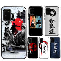 Funda Marcial japonesa Aikido para Samsung S10 S20 Plus S8 S9 S10e para Galaxy Note 20 Ultra 8 9 Note 10 Lite