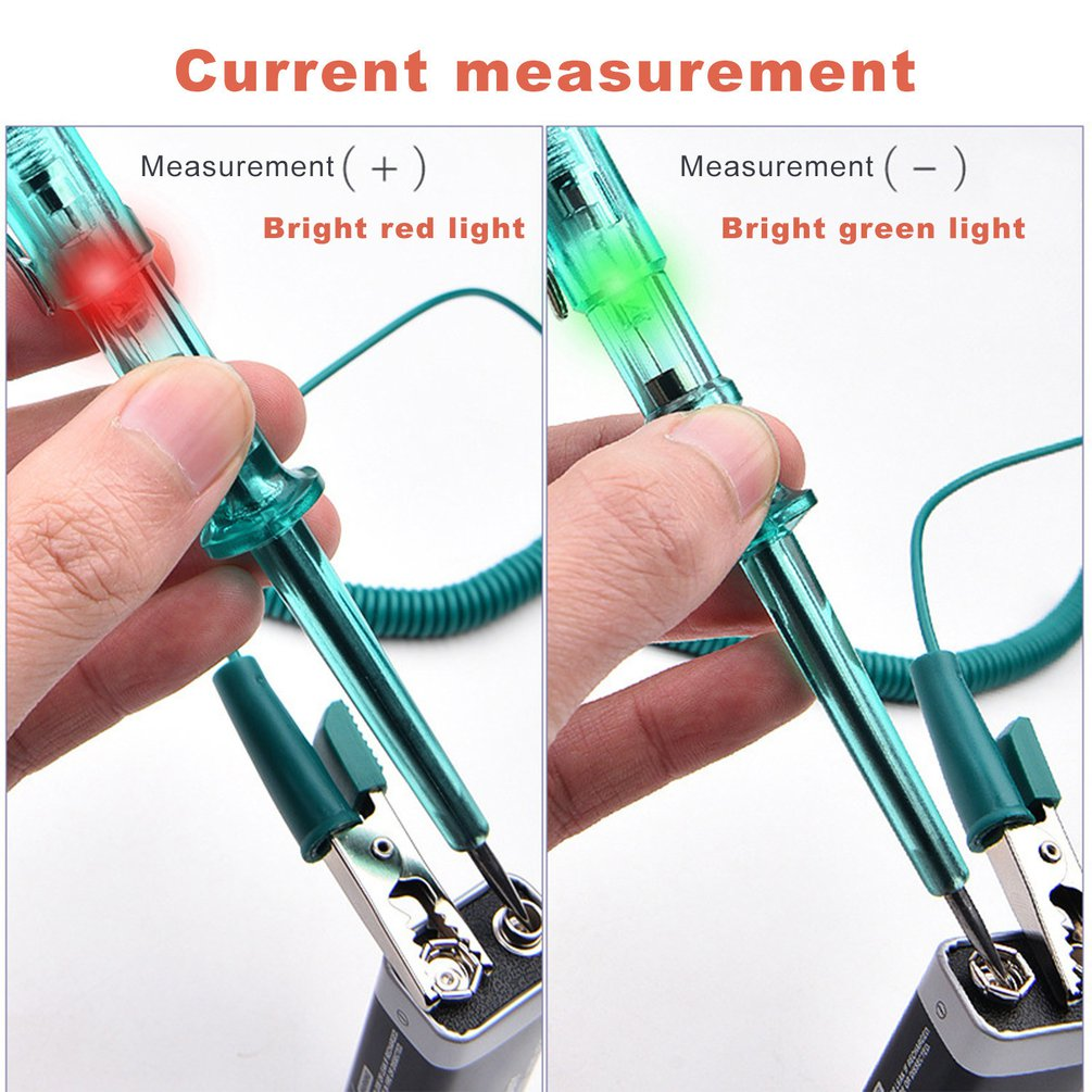 Repair Special Test Pencil Repair Led Test Light Circuit Fault Test Light 6V12V24V With Tester Light Blub