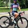Moda feminina triathlon manga curta camisa de ciclismo define skinsuit maillot ropa ciclismo bicicleta jérsei roupas macacão 10
