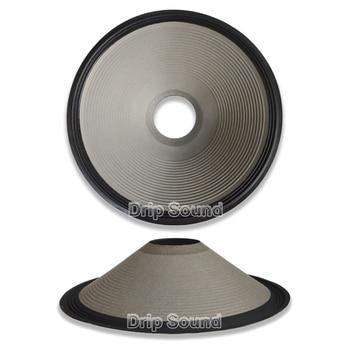 "18"" inch 445mm 100mm Core Speaker Cone Paper Basin Woofer Drum Paper 3-Ring Cloth Edge Trumper Bass Repair Parts #2"