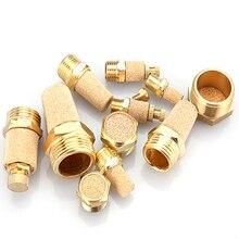 Pneumatic Brass Exhaust Muffler BSL M5 1/8