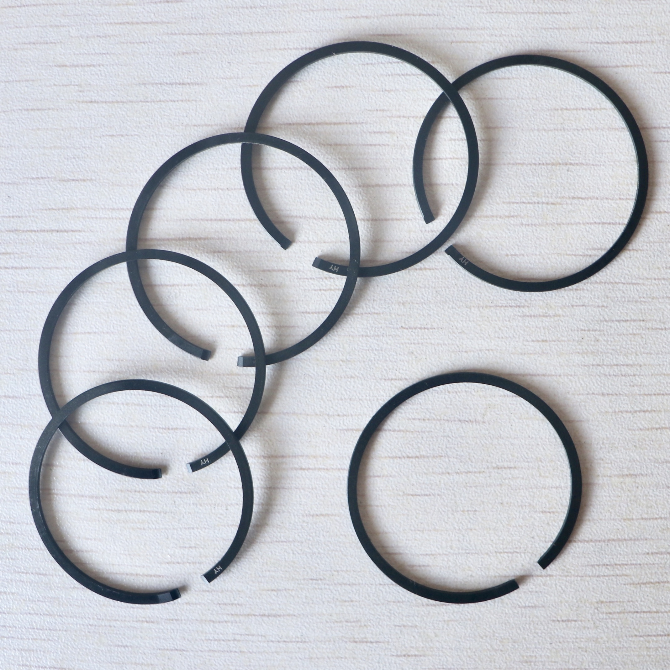 6Pcs 37mm Piston Rings For STIHL 017 MS170 MS 170 Chainsaw Replacement