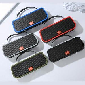 Image 2 - 휴대용 블루투스 5.0 스피커베이스 사운드 야외 무선 스피커 지원 tf 카드 fm 핸즈프리 통화 1200 mah 서브 우퍼
