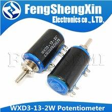 1pcs New 1 WXD3-13-2W 100 200 220 470 680 K 2.2K 3.3K 4.7K 5.6K 6.8K 47 33 22 10K K K K 100K Ohm WXD3-13 2W Wirewound Potenciômetro
