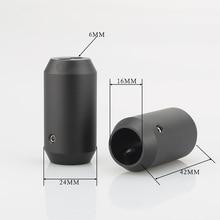 4pcs กางเกง BOOT Y Splitter 1 ถึง 2 ลำโพง RCA Audio DIY สายไฟสีดำสายลำโพงกางเกงรองเท้า