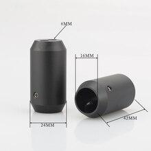 4pcs מכנסיים אתחול Y ספליטר 1 עד 2 רמקול RCA כבל אודיו DIY חוט מחבר שחור רמקול כבל תיל מכנסיים מגפיים