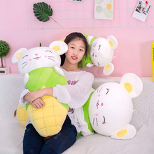 Creative Cute Corn Mouse Pillow Plush Toy Stuffed Animal Mouse Doll Toys Soft Plush Pillow Children Toy Girls Gift купить дешево онлайн