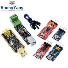 FT232BL FT232RL Basic Breakout Board FTDI FT232 USB TO TTL 5V 3.3V Debugger Download Cable To Serial Adapter Module For Arduino