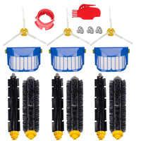 Borsten & Flexible Beater Pinsel 3-Bewaffnet Pinsel Aero Vac Filter kit geeignet für iRobot Roomba 600 Serie 620 630 650 660 sauber