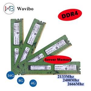 DDR4 Memory Server Ram ECC REG Memory 4GB 8GB 16GB memories ram 2133 2400 2666 Mhz Dimm For X79 X58 X99 Motherboard Xeon CPU