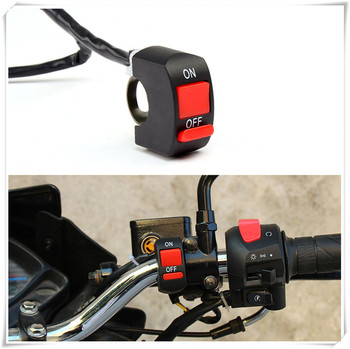Universal Motorcycle parts Switches Handlebar Flameout Switch for HONDA CR125R 250R CRF250R CR80R 85R CRF150R image