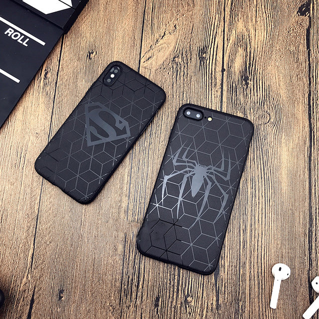 Heroes Black Phone Cases for Iphone (7 Designs) 3