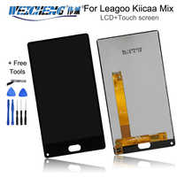 WEICHENG For Leagoo Kiicaa Mix LCD Display +Touch Screen Assembly For Kiicaa Power mix lcd Digitizer