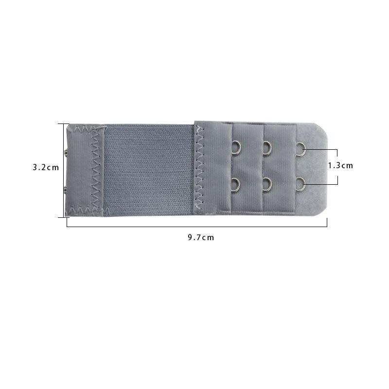 1 шт., удлинитель для бюстгальтера, удлинение пряжки, 3 ряда, 2 крючка, застежка, ремни, женский ремень для бюстгальтера, удлинитель, инструмент для шитья, аксессуары для интима