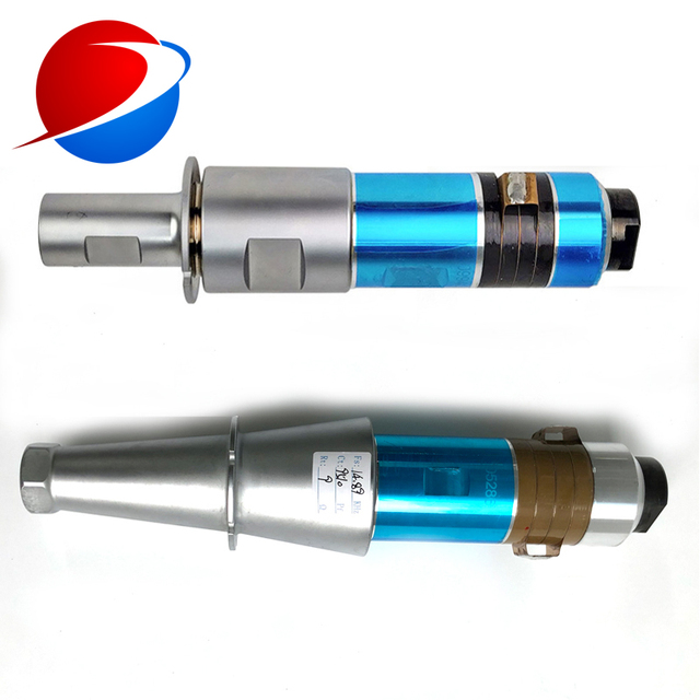 2000W/20KHz Ultrasonic Welding Transducer With Booster Used For N95 Mask Welding Machine 3