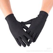Summer Gloves Women Girl Short Finger Spandex Driving Anti-Uv 10-Pc/Lot-Spot