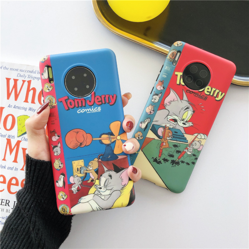 Funny Cat Pattern Phone Case For Huawei P20 Lite P30 Pro Mate <font><b>30</b></font> 20 Nova 3 <font><b>5</b></font> 4 For Honor 20 10 Back Cover Cartoon Silicone Cases image