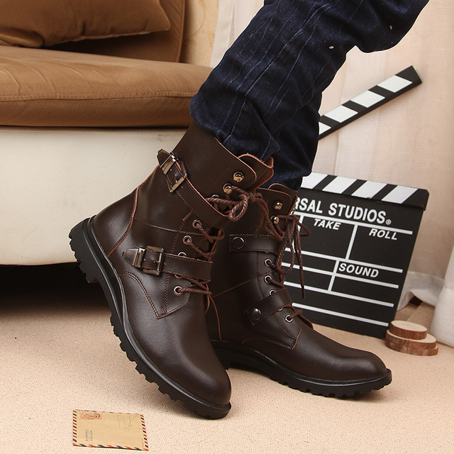 Motorcycle Martin Boots 3