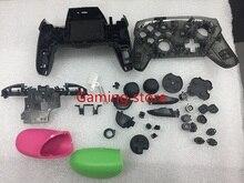 Livraison gratuite NS switch PRO contrôleur gamepad bricolage boîtier en plastique boîtier de remplacement avec des boutons de support fabriqués en chine