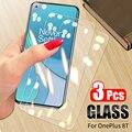 3 шт. 9H 2.5D Закаленное стекло для OnePlus 8T 9 9R Защита экрана для OnePlus Nord N100 6T 7 7T 8T стекло