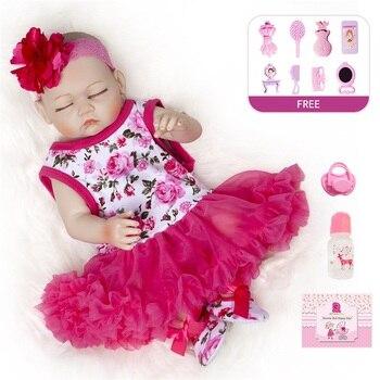 50CM Reborn Dolls Fashionable Newborn Baby Dolls Cheap Reborn Babies Realistic Cute Reborn Babies Dolls Newborn Plush Toys