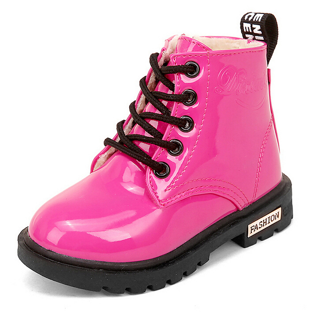 Patent Leather Boots 4