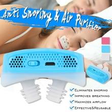 1 шт. силиконовые анти храп Носовые расширители микро CPAP анти храп электронное устройство для апноэ сна стоп Храп помощи пробка