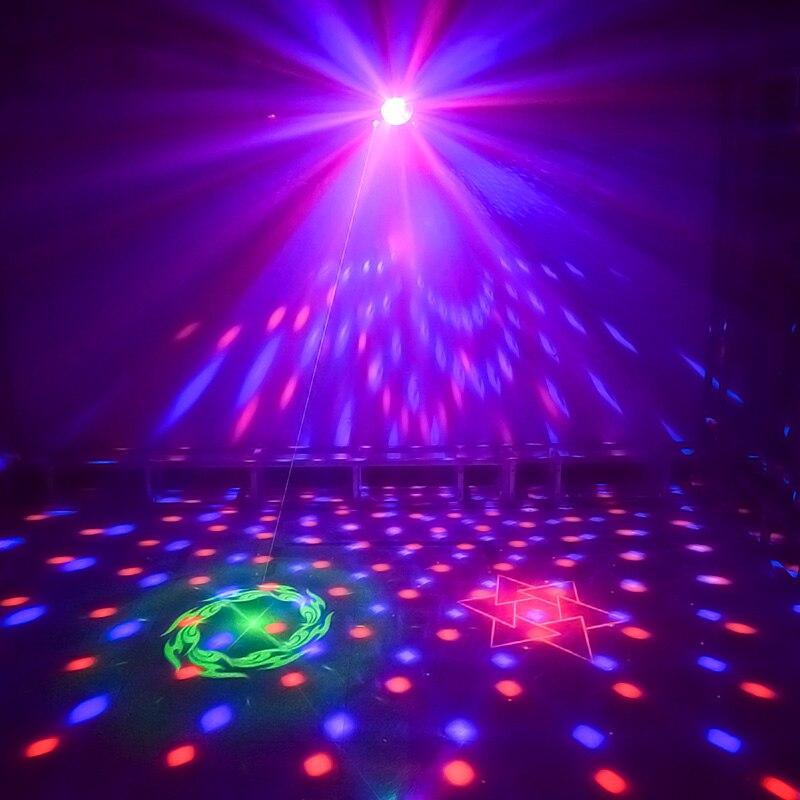 La boule de LED disco de WUZSTAR DJ allume l'effet d'éclairage de décoration d'étape lumière Laser de partie de rvb DMX pour la barre de Club de Festival de mariage - 2