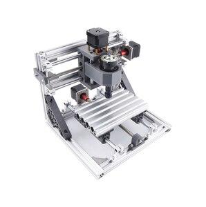 Image 3 - ماكينة التصنيع باستخدام الحاسب الآلي 1610 باستخدام الحاسب الآلي الخشب راوتر آلة الحفر بالليزر 3 محور ثنائي الفينيل متعدد الكلور الاكريليك بولي كلوريد الفينيل جهاز توجيه صغير التحكم GRBL