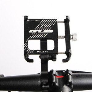 Image 5 - 2020 חדש GUB בתוספת 11 אלומיניום אופניים טלפון Stand עבור 3.5 7 אינץ רב זווית Rotatable אופני טלפון מחזיק אופנוע כידון