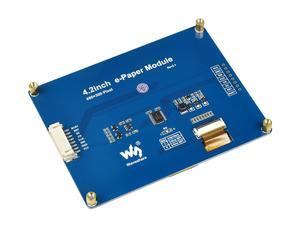 Image 4 - Waveshare Pantalla de tinta electrónica de 4,2 pulgadas, papel electrónico negro/blanco con interfaz SPI compatible con Raspberry Pi/Arduino/Nucleo/STM32 3,3 V/5V