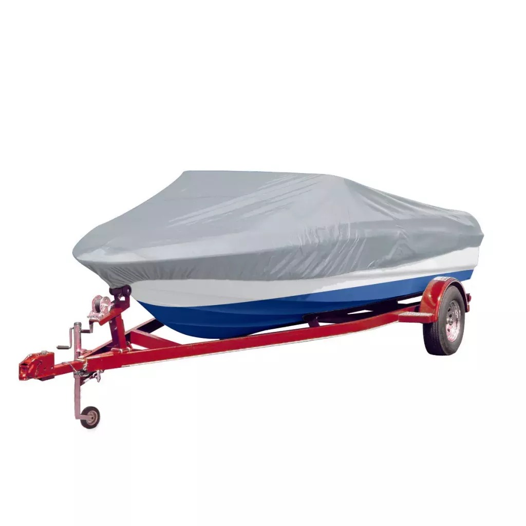 Vidaxl Water Repellent Boat Cover Grey Length 427-488 Cm Width 173 Cm Heavy Duty Boat Cover For All Seasons