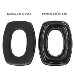 Image 5 - Gel Sightlines Ear Pads For Howar Leight Impact  Electronic Shooting Tactical Headset Silicone Replace the earmuffs