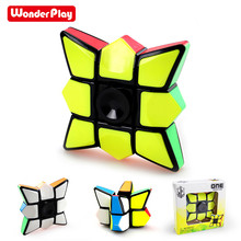 Antistress Puzzle Toys Spinner Cube Gyro Professional Finger Floppy 3d Puzzle Cube For Boys Girls 3d cube