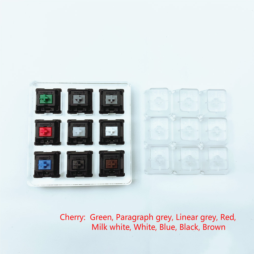 9 Keys Cherry Switches Shaft Tester Tool Keyboard Gateron 6 Keys 4 Keys Switch Testing For Gateron And Cherry MX Switches