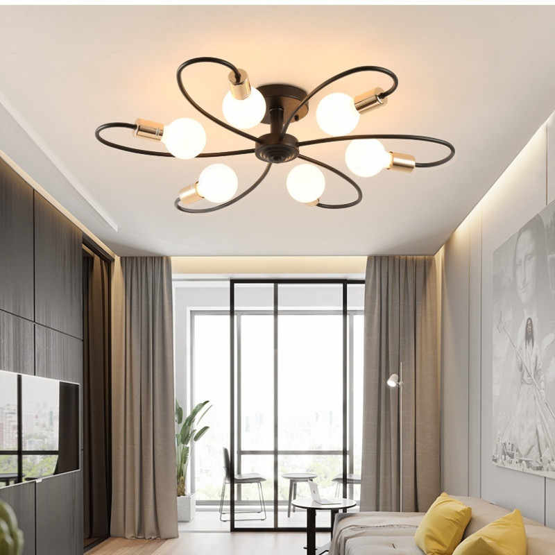 Nordic Bedroom Ceiling Lamp Modern