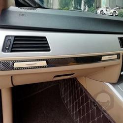 Car Passenger Cup Holder Panel Moulding Strip Outdoor Personal Car Parts Decoration for BMW E90 E92 E93 3 Series 05-12