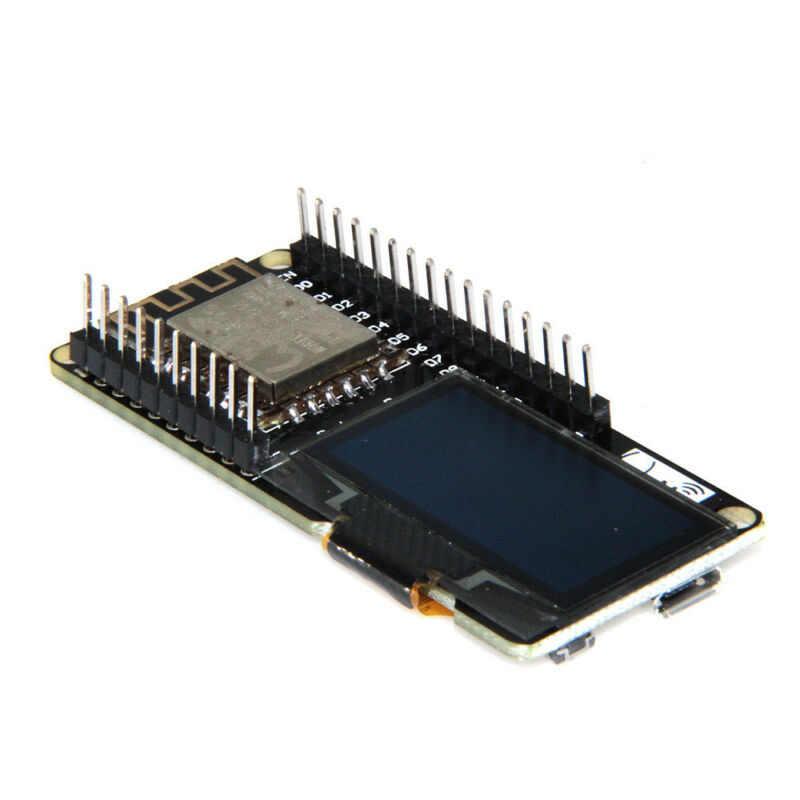 Cartes de développement Micro USB NODEMCU Wifi ESP8266 ESP-12F CP2102 écran OLED