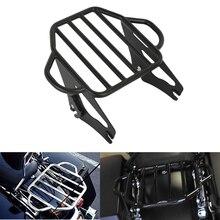Motorrad Abnehmbare Zwei Up Tour Montage Gepäck Rack Für Harley Electra Glide Road King Glide Straße 2009 2019
