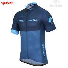 STRAVA Cycling Jersey Man Mountain Bike Clothing Quick-Dry Racing MTB Bicycle Clothes Uniform Breathale Cycling Clothing Wear